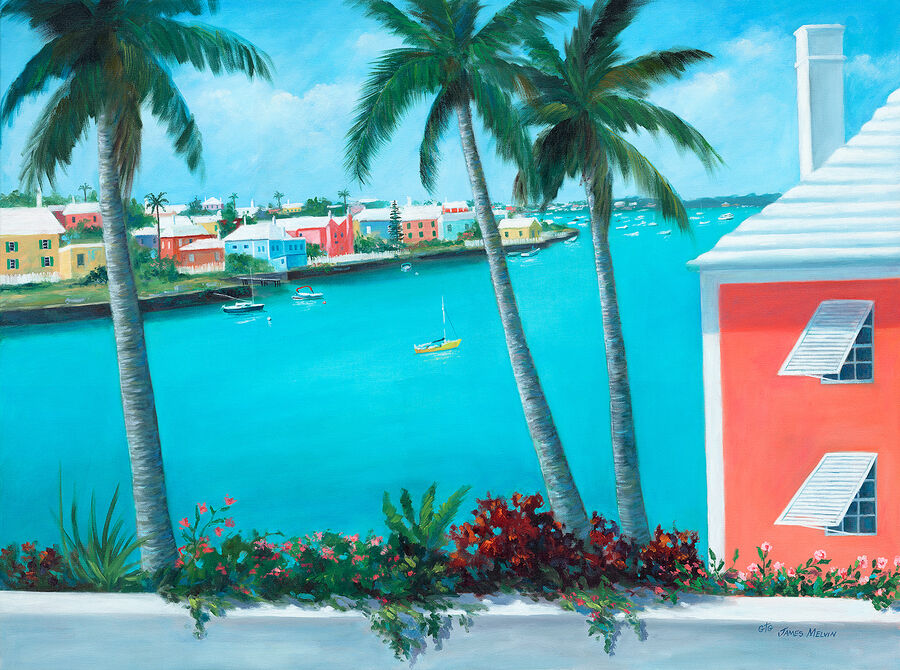 Coastal Art by James Melvin, Bermuda