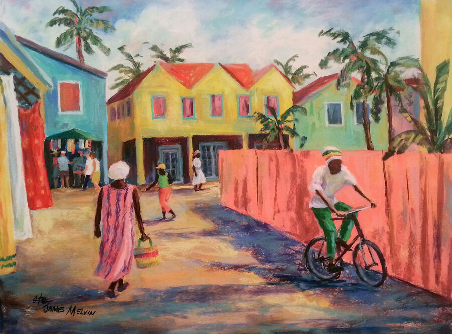 Coastal Art by James Melvin, Caribbean Rhythm