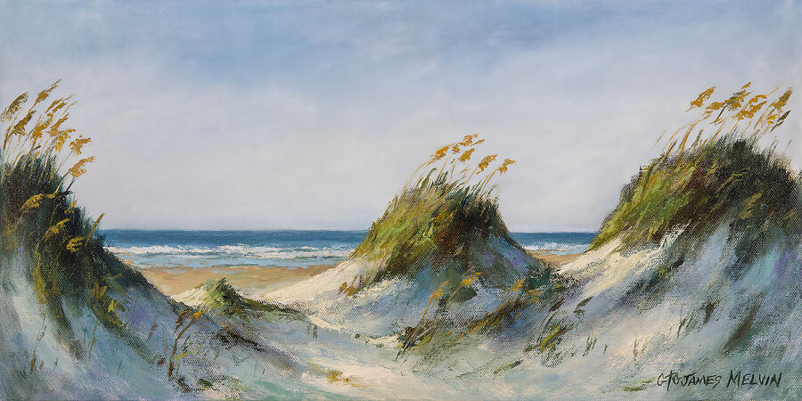 Coastal Art by James Melvin, Dunescape