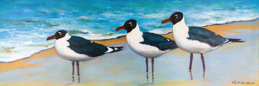 Coastal Art by James Melvin, Endurance