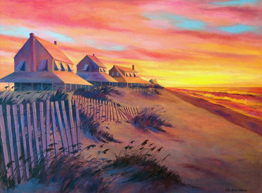 Coastal Art by James Melvin, Heavens Declaration