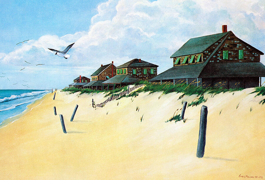 Coastal Art by James Melvin, Nagshead