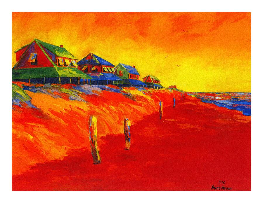 Coastal Art by James Melvin,