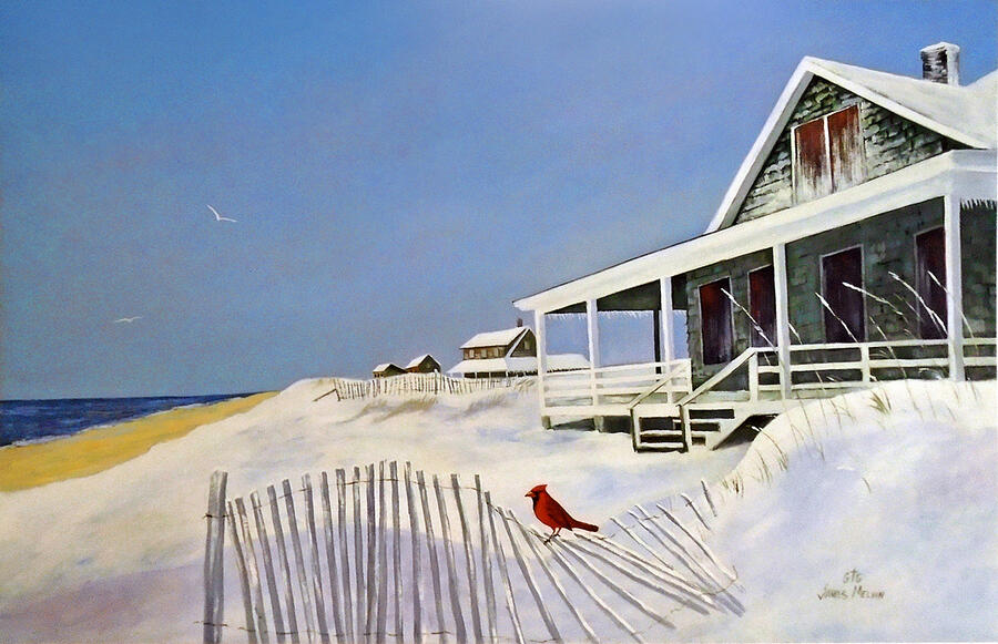 Coastal Art by James Melvin, Winter Harmony
