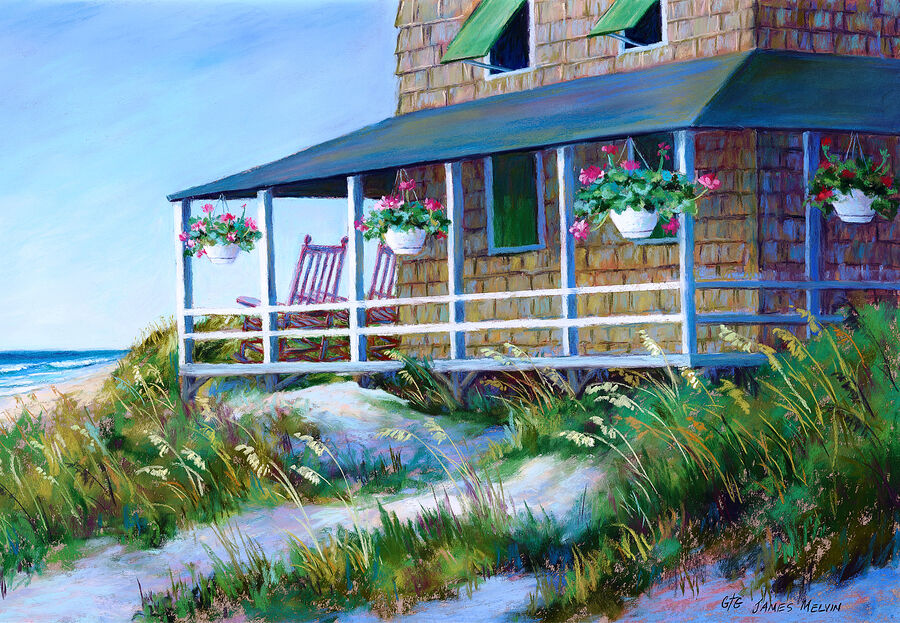 James Melvin, Obx  Cottage 1