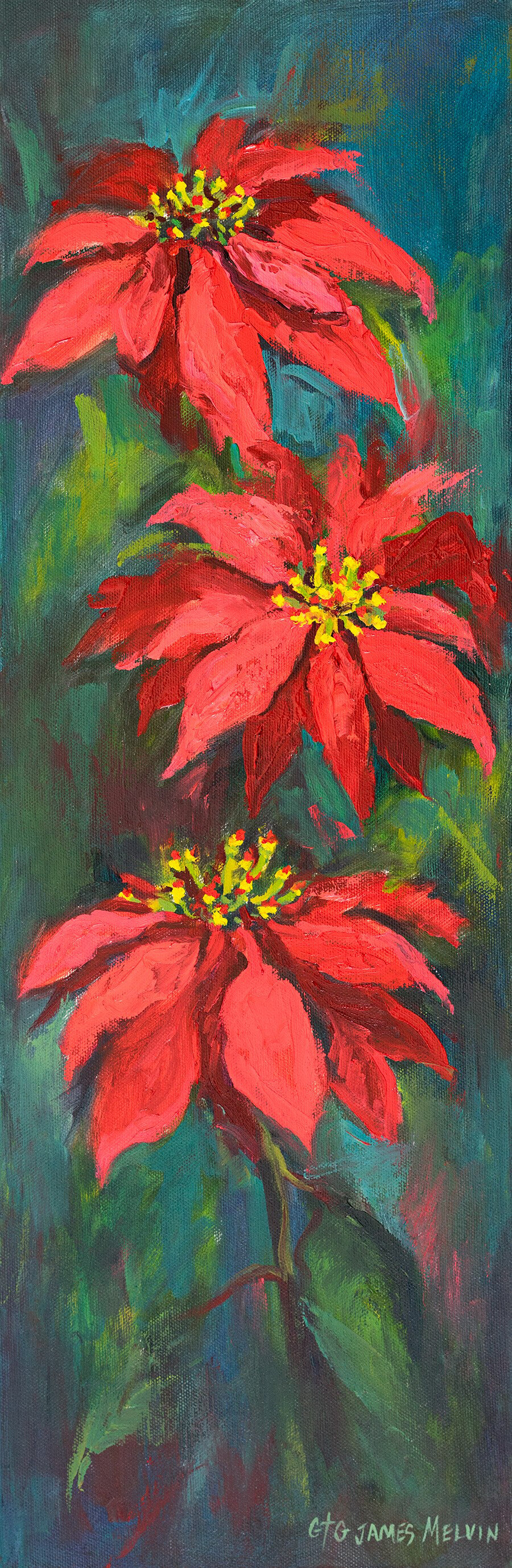 James Melvin, Obx Pointsettias
