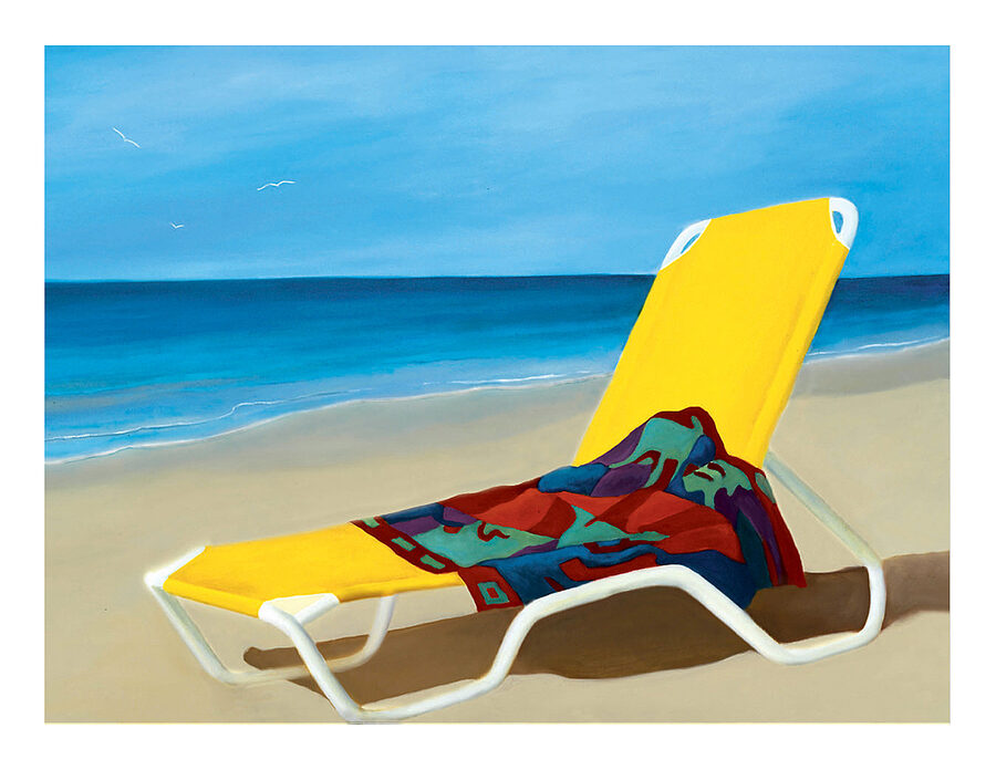 Notecard Beach Towel