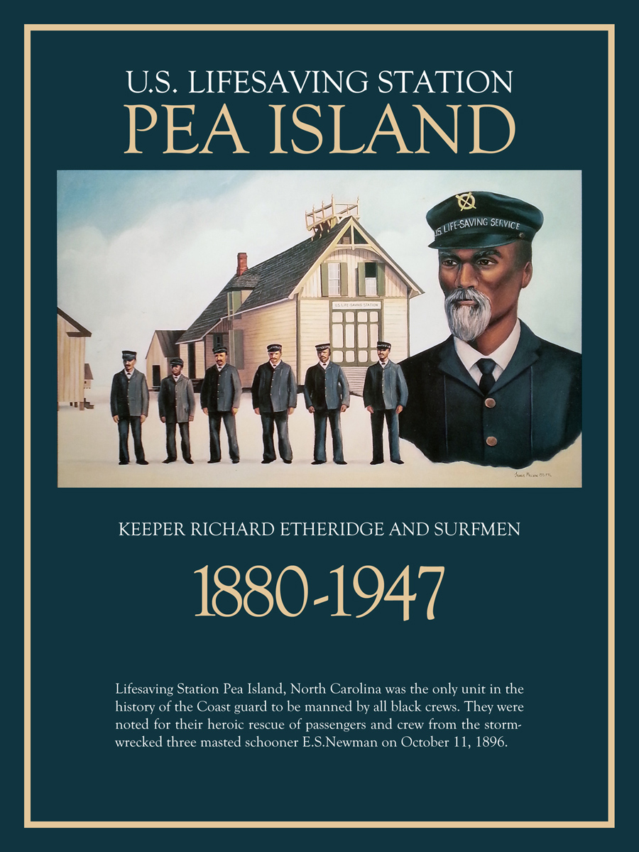 Pea Island Lifesavers Poster