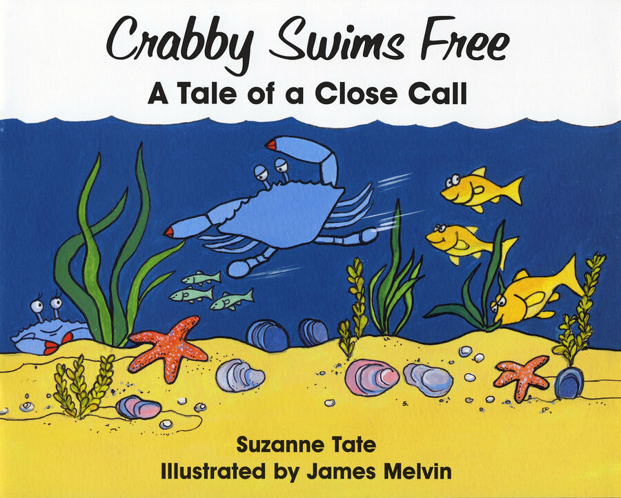 Suzanne Tate, Crabby Swims Free 026