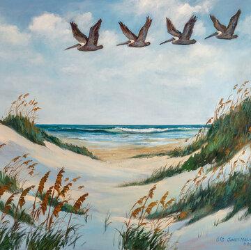 Coastal Art Beach Rhythm