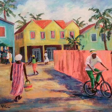 Coastal Art by James Melvin, Caribbean Rhythm